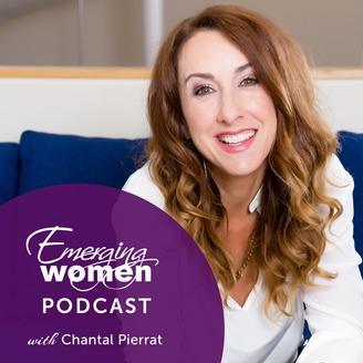 Image result for emerging women podcast logo