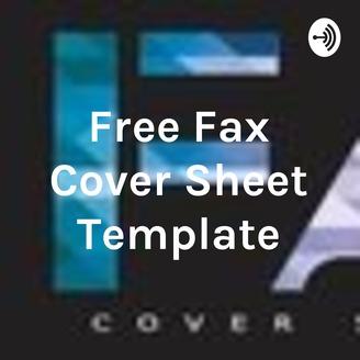 free fax cover sheet template listen via stitcher radio on demand