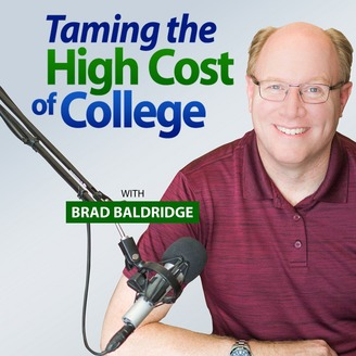 Taming the High Cost of College podcast logo