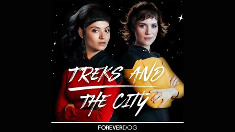 """""""Darmok"""" (w/ Paul F. Tompkins) from Treks and the City with Alice Wetterlund and Veronica Osorio"""