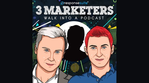 069: Make LinkedIn Ads Work For You And Your Webinar Promotion [AJ Wilcox] from 3 Marketers Walk Into A Podcast