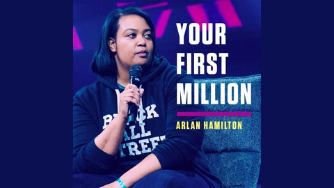 "10. Jewel Burks - ""I sold my computer-vision company to Amazon for millions."" from Your First Million"