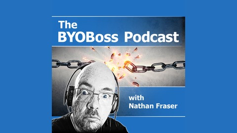 Image result for Images of Nathan Fraser podcasting