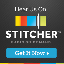 Listen to our podcast on Stitcher